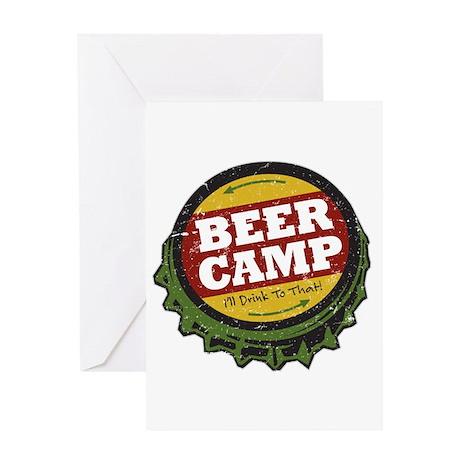 Beer Camp Greeting Card