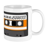 Maths + retro - orange Mug