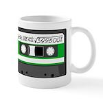 Maths + retro - green Mug