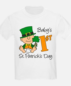 Baby's First St Patricks Day T-Shirt
