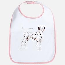 Dalmatian Dog Bib