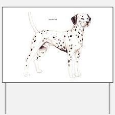 Dalmatian Dog Yard Sign