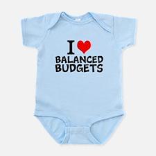 I Love Balanced Budgets Body Suit