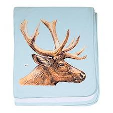 Elk Animal baby blanket