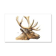 Elk Animal Car Magnet 20 x 12