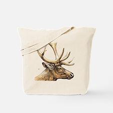 Elk Animal Tote Bag
