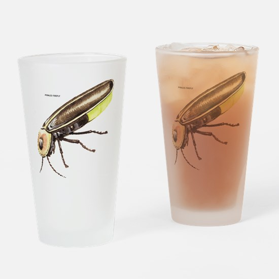 Pyralis Firefly Insect Drinking Glass