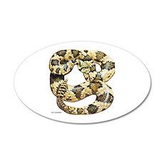 Rattlesnake Snake Wall Decal