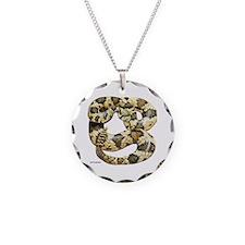 Rattlesnake Snake Necklace