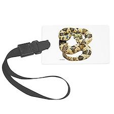 Rattlesnake Snake Luggage Tag