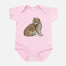 Ocelot Wild Cat Infant Bodysuit