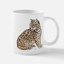Ocelot Wild Cat Mug