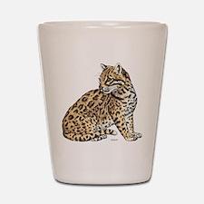 Ocelot Wild Cat Shot Glass