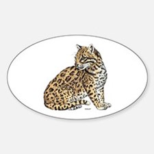 Ocelot Wild Cat Decal