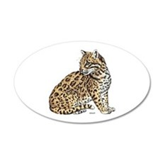 Ocelot Wild Cat Wall Decal