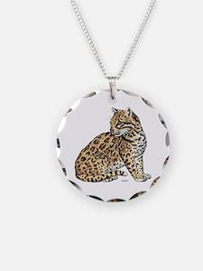 Ocelot Wild Cat Necklace