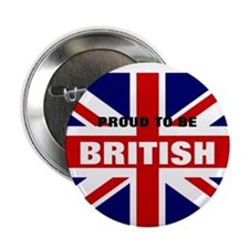 "proud to b brit 2.25"" Button"