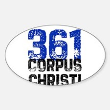 361 Oval Decal