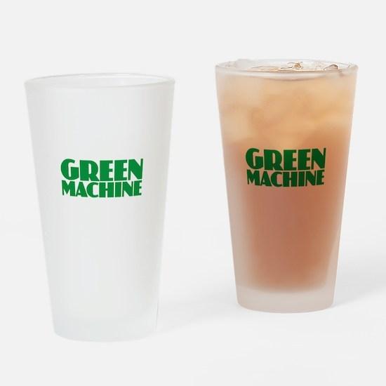 Green Machine Drinking Glass