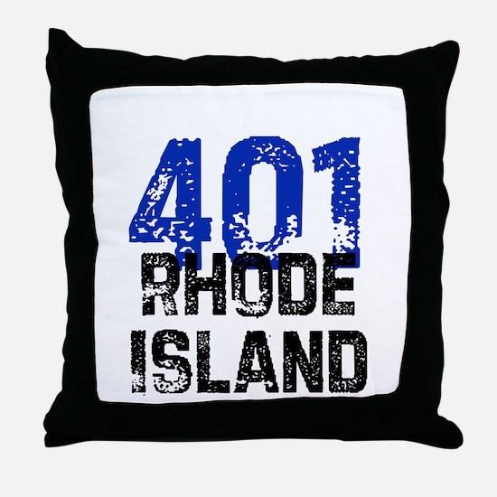 401 Throw Pillow
