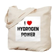 I * Hydrogen Power Tote Bag