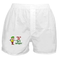 60 But Still Swinger Boxer Shorts