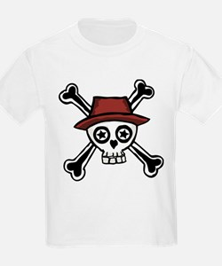 Cool Dude Skull Head T-Shirt