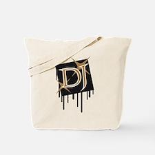 star_dj_grafitti_square Tote Bag