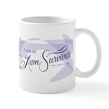 I am an AVM Survivor Mug (Blue)