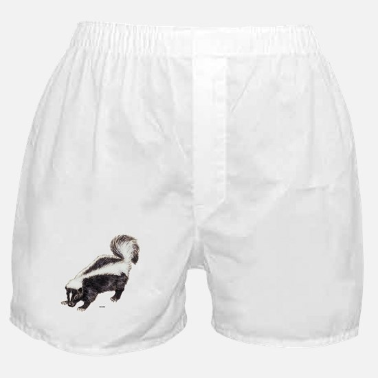 Skunk Animal Boxer Shorts