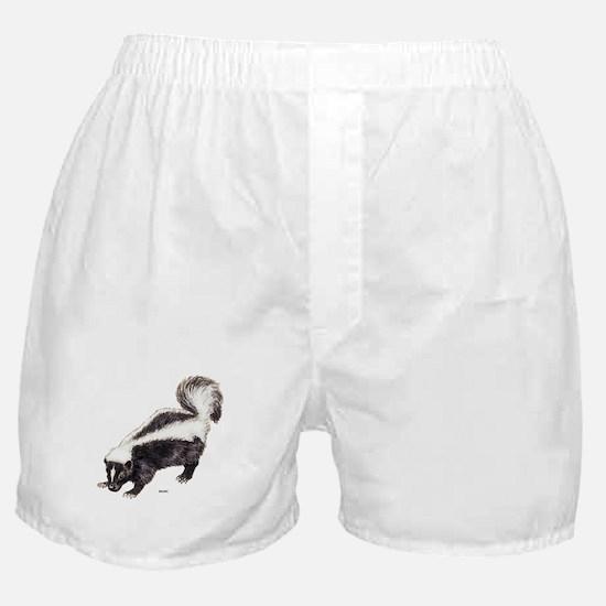 Skunk Animal Boxer Shorts