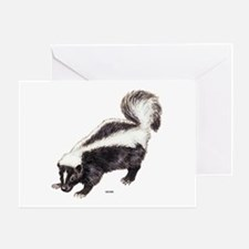 Skunk Animal Greeting Card