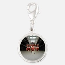 Christie for President 2016 Silver Round Charm