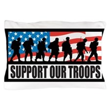 Support our troops - Infantry Pillow Case