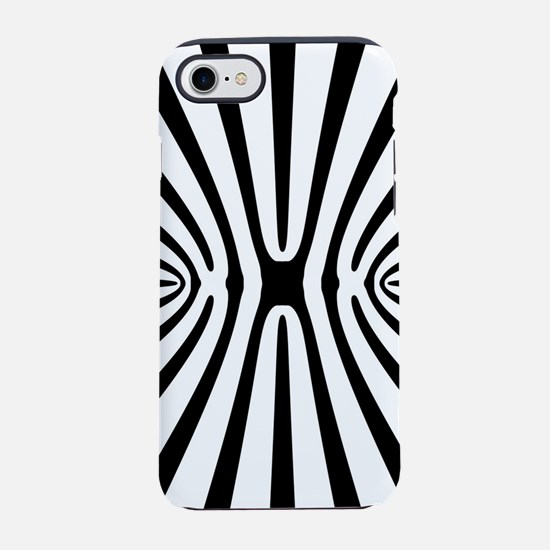 High Contrast Fractal Abstract iPhone 7 Tough Case