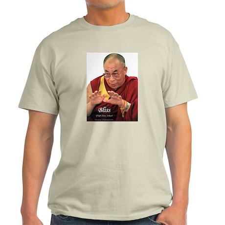 Dalai Lama - Bliss - Ash Grey T-Shirt