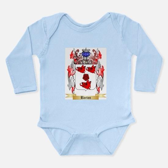 Barton Long Sleeve Infant Bodysuit