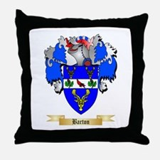 Barton (England) Throw Pillow