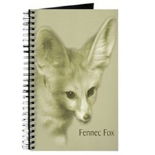 Antiqued Fennec Fox Journal