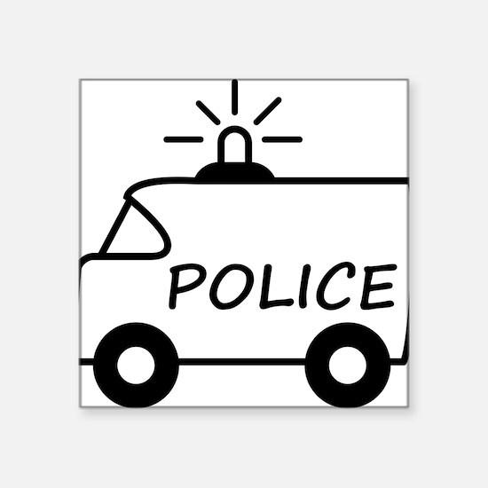 police_truck Sticker