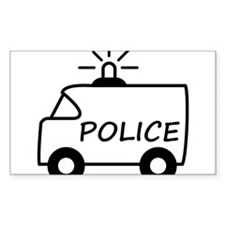 police_truck Decal