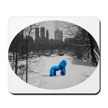 Blue Gorilla Mousepad