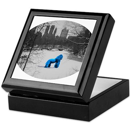 Blue Gorilla Keepsake Box