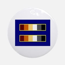 Equality Bear Ornament (Round)