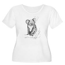 Koala Plus Size T-Shirt