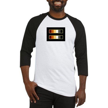 Equality Bear Black Baseball Jersey