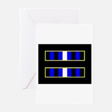 Eaulity Leather Black Greeting Cards (Pk of 10