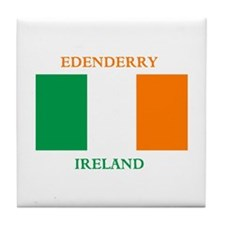 Edenderry Ireland Tile Coaster