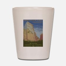 Zion Park Shot Glass