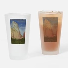 Zion Park Drinking Glass